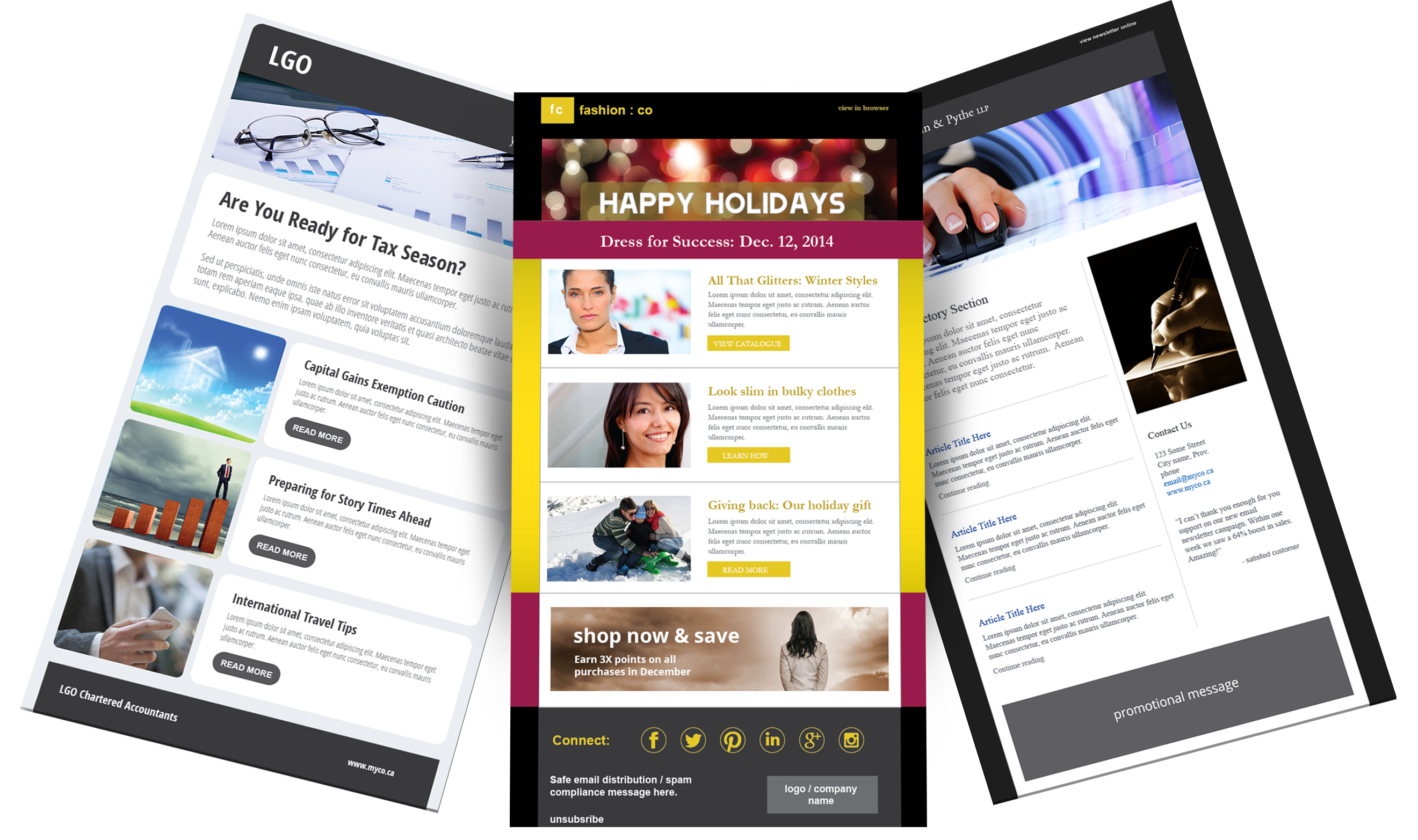 Stunning Email Templates